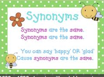Synonyms, Antonyms & Homonyms
